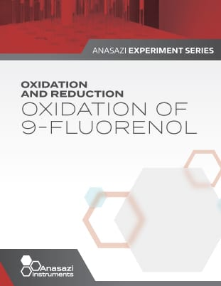 Banner of cover page for Oxidation and Reduction: Oxidation of 9-Fluorenol. Part of the Anasazi Experiment Series.